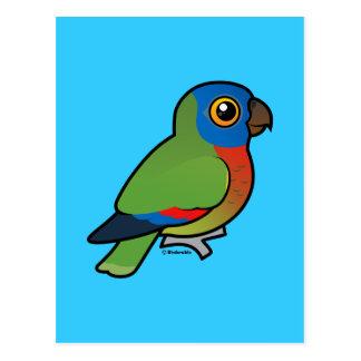 Loro de la Santa Lucía de Birdorable Postal