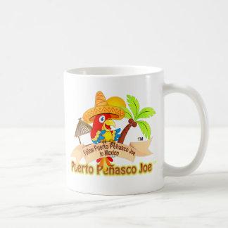 Loro de Puerto Penasco México Taza Básica Blanca