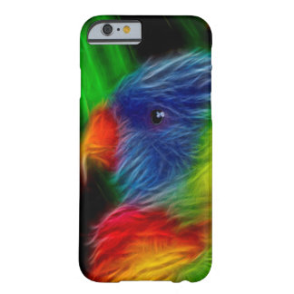 Loro del arco iris funda de iPhone 6 barely there