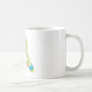 Loro del bebé taza de café