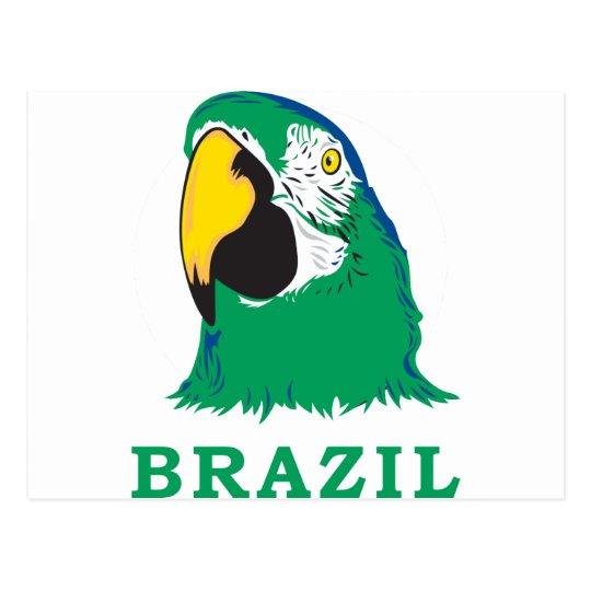 Loro del Brasil Postales