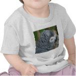 loro gris #1 camisetas