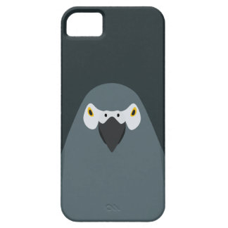 Loro gris - caso del iPhone 5/5s del ejemplo del p iPhone 5 Case-Mate Funda