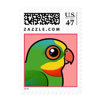 Loro magnífico de Birdorable Timbres Postales