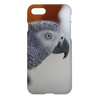 Loro majestuoso del gris africano funda para iPhone 7