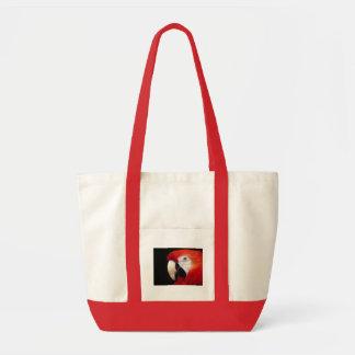 Loro rojo bolsa