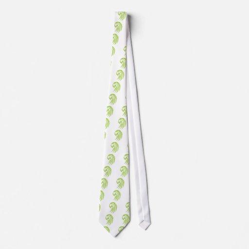 Loro verde del Macaw en estilo del dibujo del chas Corbatas Personalizadas