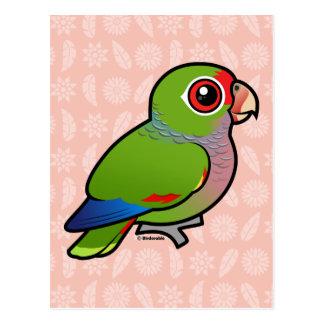 Loro vinoso de Birdorable Postal