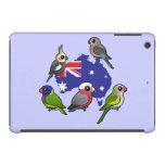 Loros australianos funda de iPad mini