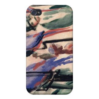 Loros azules iPhone 4/4S carcasa