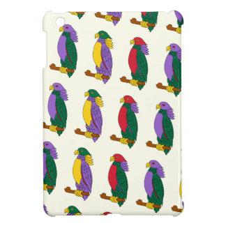Loros coloridos lindos iPad mini carcasas
