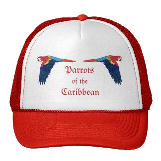 Loros del Caribe Gorras De Camionero