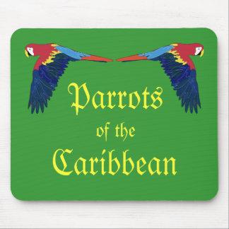 Loros del Caribe Alfombrilla De Ratón