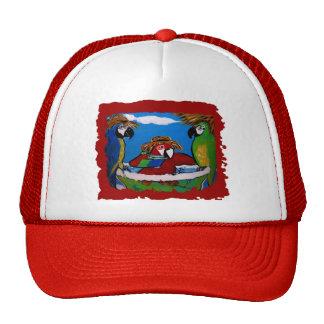 Loros del fiesta gorras de camionero