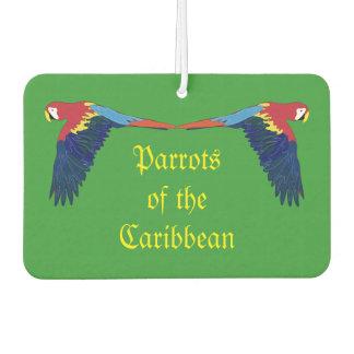 Loros del verde del Caribe