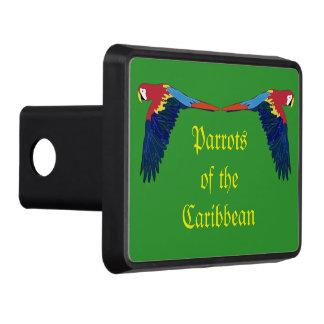 Loros del verde del Caribe Tapas De Tráiler
