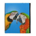 Loros en el amor, caja del folio del iPad de Casea