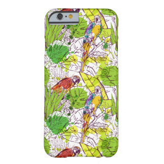 Loros tropicales funda barely there iPhone 6