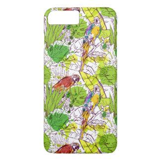 Loros tropicales funda iPhone 7 plus