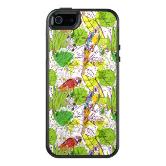 Loros tropicales funda otterbox para iPhone 5/5s/SE
