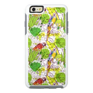 Loros tropicales funda otterbox para iPhone 6/6s plus