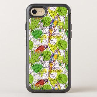 Loros tropicales funda OtterBox symmetry para iPhone 7