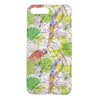 Loros tropicales fundas para iPhone 7 plus