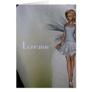 Lorraine Card