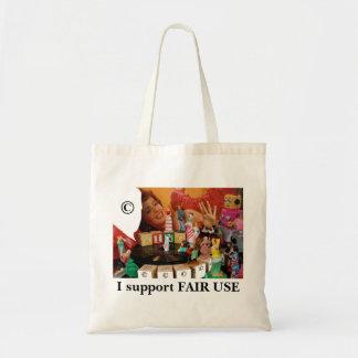Lorraine FAIR USE Tote Bags