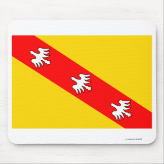 Lorraine flag mouse pads