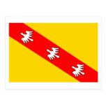 Lorraine flag post card