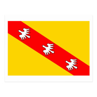 Lorraine flag postcard