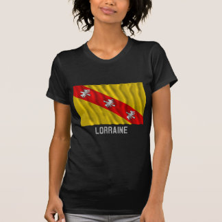 Lorraine waving flag with name T-Shirt