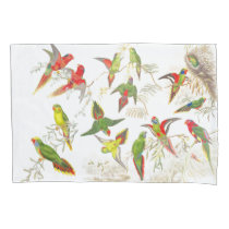 Lorrikeet Parrot Birds Animals Jungle Pillowcase