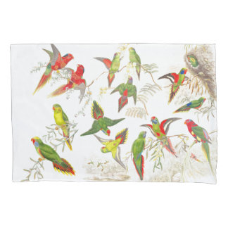 Lorrikeet Parrot Birds Animals Jungle Pillowcase