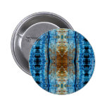 Lorry Tyre Abstract Pinback Button