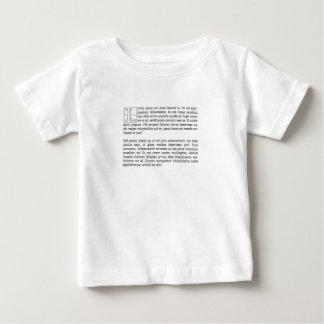 Lorum Ipsum Baby T-Shirt