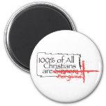 ¡! los 00% de cristianos son iman