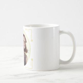 Los 01 fantásticos ligeros taza básica blanca