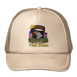 los 101os veteranos Vietnam de la división Gorras