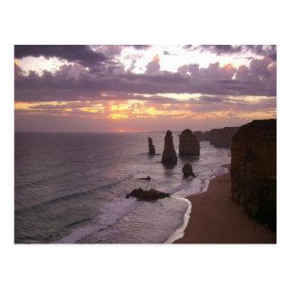 Los 12 apóstoles en Australia Tarjetas Postales