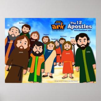 Los 12 apóstoles posters