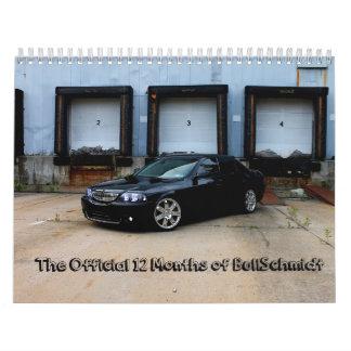 Los 12 meses de BullSchmidt Calendario