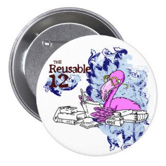 Los 12 reutilizables pin