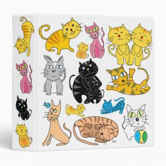 Los 13 gatos en una carpeta