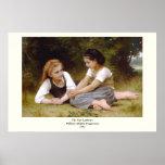 Los 1882 de Bouguereau los noisettes de Les de los Poster