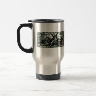 Los 1896 E.E.U.U. certificado de plata de cinco dó Tazas De Café