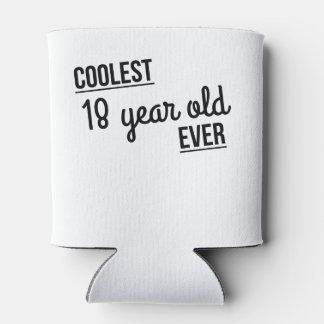 Los 18 años más frescos nunca enfriador de latas