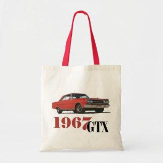 LOS 1967 GTX ROJOS BOLSAS