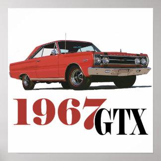 LOS 1967 GTX ROJOS IMPRESIONES